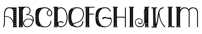 Relick Hunter02 Regular Font UPPERCASE