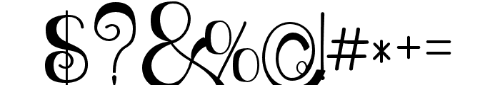 Relick Hunter03 Regular Font OTHER CHARS