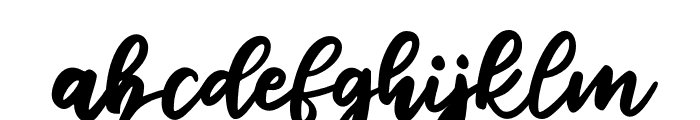Reliser Font LOWERCASE