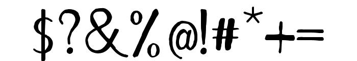 Remember December Regular Font OTHER CHARS