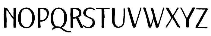 Remember December Regular Font UPPERCASE
