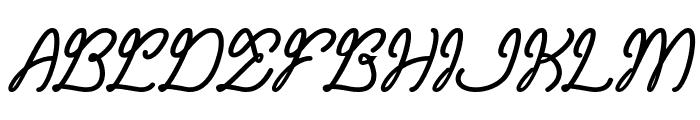 Remember Memory Bold Font UPPERCASE