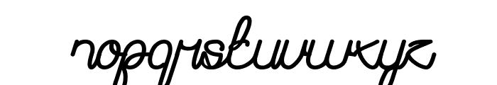 Remember Memory Bold Font LOWERCASE