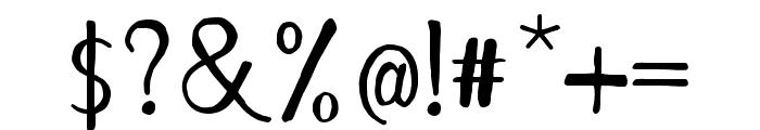 RememberDecember-Regular Font OTHER CHARS
