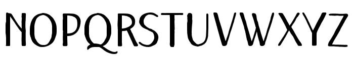 RememberDecember-Regular Font LOWERCASE