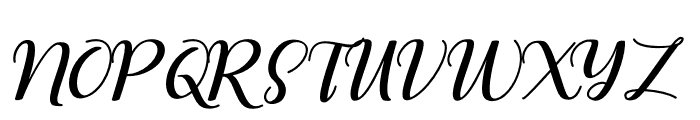 RememberYou Font UPPERCASE