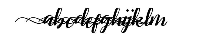 RememberYouSwash1 Font LOWERCASE