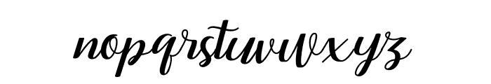 RememberYou Font LOWERCASE