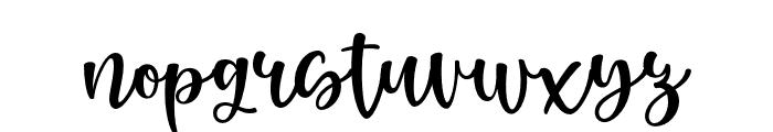 RenattaWalters Font LOWERCASE