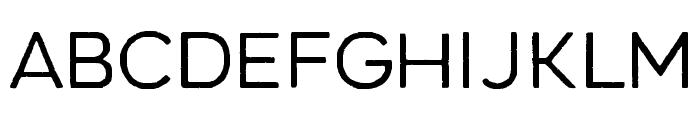 Renos Rough Light Font UPPERCASE