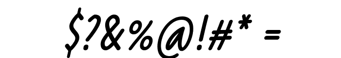 Reprineato Italic Font OTHER CHARS