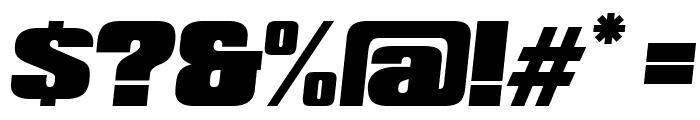 Republica Minor 2.0 Italic Font OTHER CHARS