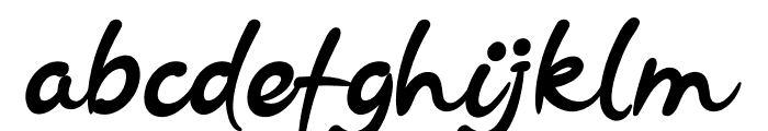 Requigo Font LOWERCASE