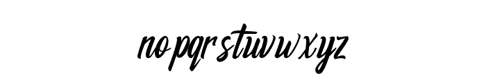 Respection Font LOWERCASE