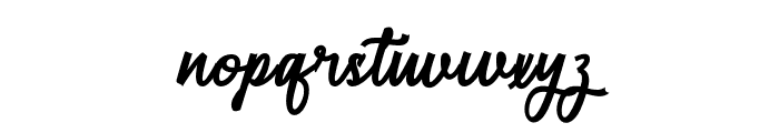 RestylaScript Font LOWERCASE