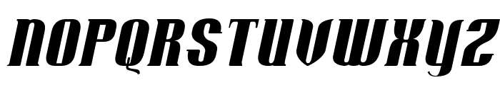 Retro Remembers Italic Font UPPERCASE