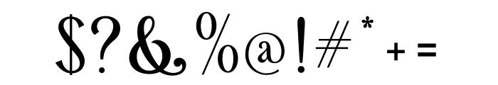 Retrophilia Font OTHER CHARS