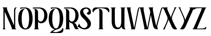 Retrophilia Font UPPERCASE