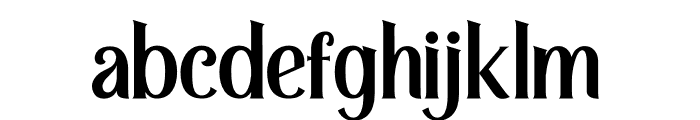 Retrophilia Font LOWERCASE