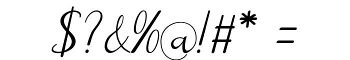 Reula arwah studio Font OTHER CHARS