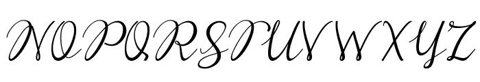 Reula arwah studio Font UPPERCASE