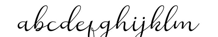Reula arwah studio Font LOWERCASE
