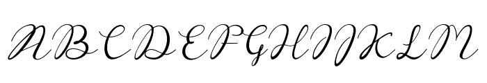 Reula-arwahstudio Font UPPERCASE