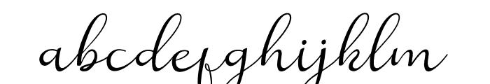 Reula-arwahstudio Font LOWERCASE