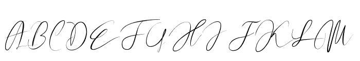 Revalinda Medium Font UPPERCASE