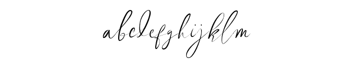 Revalinda Medium Font LOWERCASE