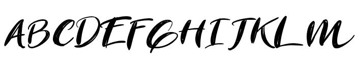 Revolution Font UPPERCASE