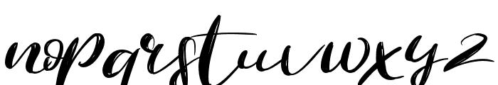 Revolution Font LOWERCASE