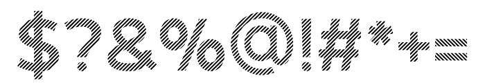 Revoxa Strip Font OTHER CHARS