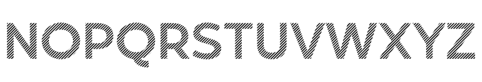 Revoxa Strip Font LOWERCASE