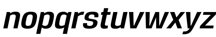 Reznik Bold Italic Font LOWERCASE