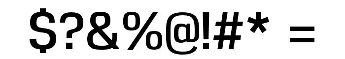 Reznik DemiBold Font OTHER CHARS