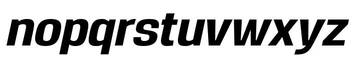 Reznik ExtraBold Italic Font LOWERCASE