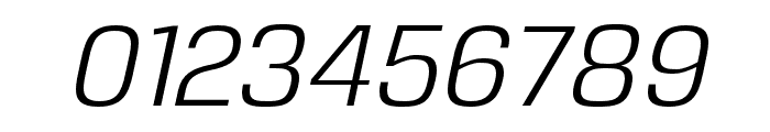 Reznik Italic Font OTHER CHARS