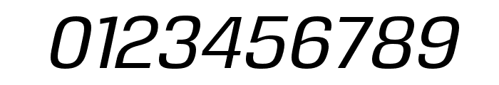 Reznik Medium Italic Font OTHER CHARS