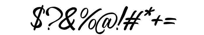 Richard Benoitt Regular Font OTHER CHARS