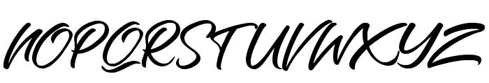 Richard Benoitt Regular Font UPPERCASE