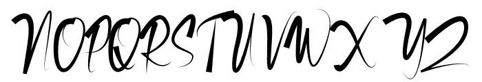 Richard Calvin Font UPPERCASE