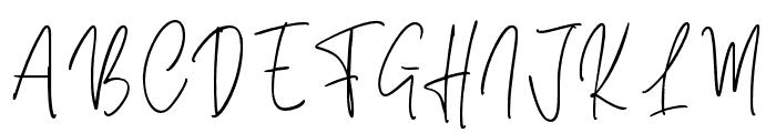 RichardKeild-Regular Font UPPERCASE