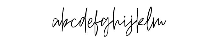 RichardKeild-Regular Font LOWERCASE