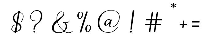 Richardo Font OTHER CHARS