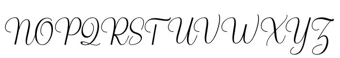 Richardo Font UPPERCASE