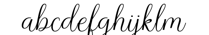 Richardo Font LOWERCASE