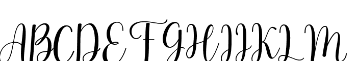 Rihanna Font UPPERCASE