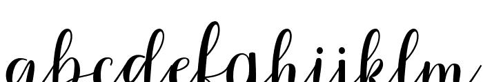 Rihanna Font LOWERCASE