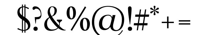 Rikiar regular Font OTHER CHARS